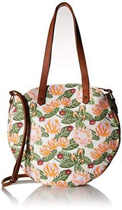 T-Shirt & Jeans Womens Floral Tambourine Tote