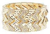Charlotte Russe Chevron Stretch Cuff Bracelet