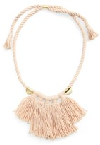 Madewell Women's Tassel Statement Necklace