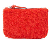 Jigsaw Sheepskin Small Pouch