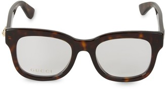 Gucci 50MM Square Optical Glasses