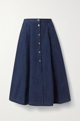 Forte Forte Calvary Denim Skirt