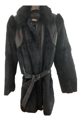 Bel Air Black Rabbit Coats