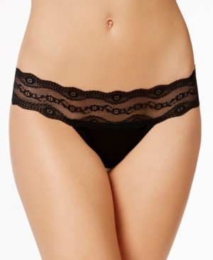 B.Tempt'd b.adorable Lace-Waistband Thong Underwear 933182