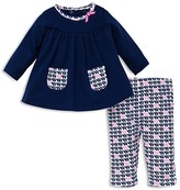 Offspring Infant Girls' Elephant Tunic & Leggings Set - Sizes 3-9 Months