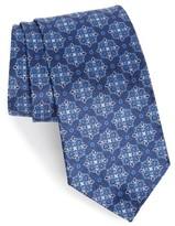 David Donahue Men's Medallion Silk Tie