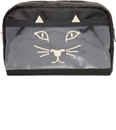 Charlotte Olympia Purrrfect Wash Bag