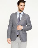 Le Château Stripe Linen Blend Contemporary Fit Blazer