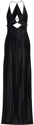Galvan Prism Cutout Maxi Dress