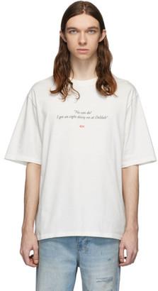 424 White Delilah T-Shirt