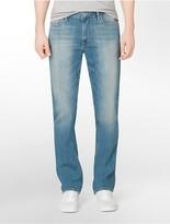 Calvin Klein Slim Straight Leg Silver Bullet Light Wash Jeans
