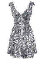 Delia's Cap Sleeve Sequin Dress