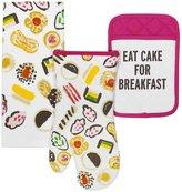 Kate Spade Eat Cake For Breakfast 3-Piece Kitchen Linens Set