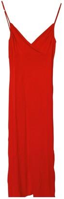 Diane von Furstenberg Red Viscose Dresses