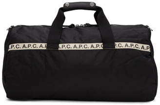 A.P.C. Black Gym Bag