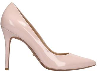 Michael Kors Claire Pump Pumps In Rose-pink Patent Leather