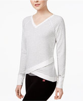 Tommy Hilfiger Stern Striped Crisscross Sweater, A Macy's Exclusive