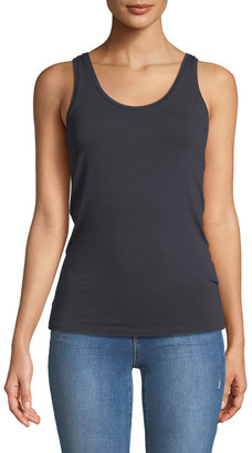 Majestic Filatures Basic Soft Touch Scoop-Neck Tank