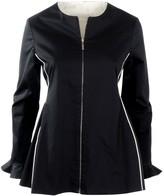 Nemozena Reversible Zipped Peplum Shape Jacket
