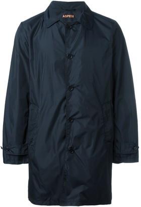 Aspesi Single Breasted Coat