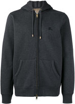 Burberry zip-up hoodie - men - Cotton/Polyester - XL