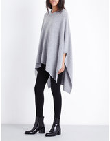 Theory Wool and cashmere-blend cape