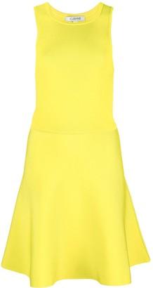 Cushnie Flared Mini Dress