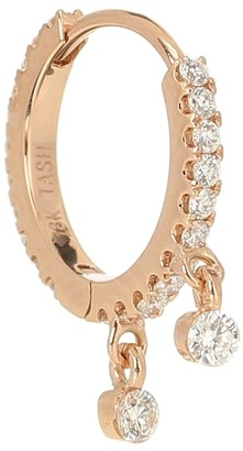 Maria Tash Eternity 18kt gold and diamond earring