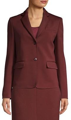 HUGO BOSS Jomanda1 Textured Jersey Blazer