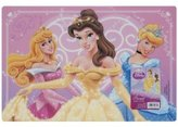 Disney Pink Princess Placemat with Belle, Aurora and Cinderella
