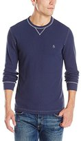 Original Penguin Men's Waffle Thermal Crew Neck Shirt