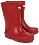Hunter Red First Gloss Wellington Boots