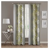 "Nobrand No Brand Ally 100% Cotton Printed Curtain Panel - Yellow/Grey (50""x84"")"