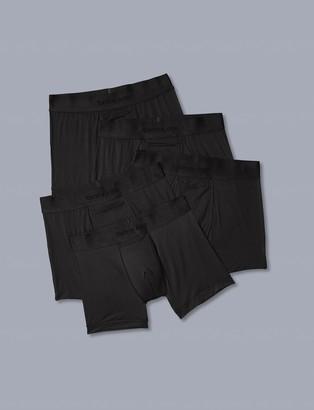 Tommy John Air Mesh Trunk 5 Pack, Black