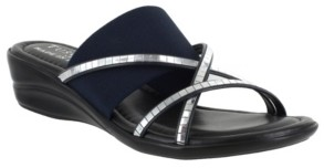 Easy Street Shoes Tuscany by Addilyn Slide Sandals Women's Shoes