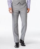 Tommy Hilfiger Grey Sharkskin Classic-Fit Pants