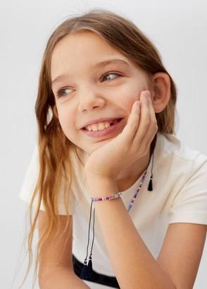 MANGO Bracelet necklace pack dark navy - One size - Kids