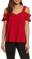 KUT from the Kloth Women's Kut From The Cloth Erika Cold Shoulder Top