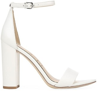 Sam Edelman Yaro Ankle-Strap Leather Sandals