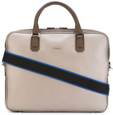 Furla medium Argo briefcase - men - Calf Leather - One Size