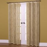 Bed Bath & Beyond Easy Glide Bamboo Ring Top Window Curtain Panels