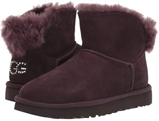UGG Classic Bling Mini (Pink Crystal) Women's Boots