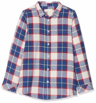 ZIPPY Boy's Camisa A Cuadros Formal Shirt