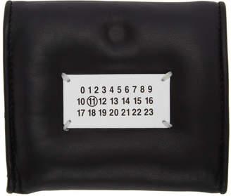 Maison Margiela Black Square Glam Slam Wallet