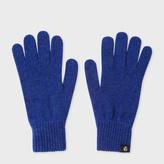 Paul Smith Women's Navy Lambswool Gloves