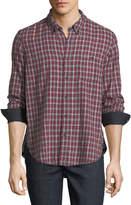 Velvet Flannel Cotton Sport Shirt