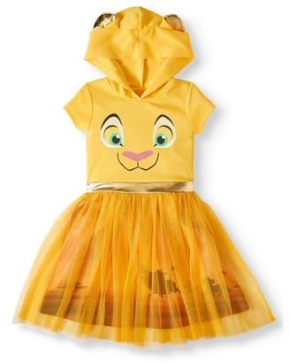 The Lion King Nala Lion King Cosplay Dress With Hood (Little Girls & Big Girls)