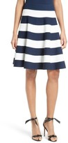 Milly Women's Stripe Circle Skirt