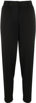 Merci High-Waisted Cropped Trousers