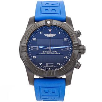 Breitling Blue Titanium Exospace B55 VB5510H21B1S1 Men's Wristwatch 46 MM